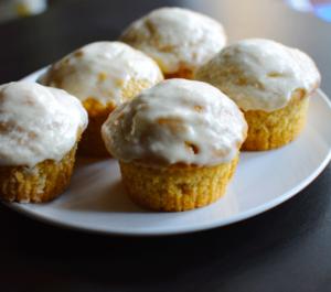 vegan vanilla muffins