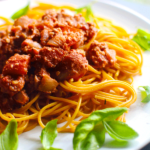 "Vegan Pasta Recipe w/ Walnut ""Meat"""