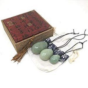 Jade Yoni Eggs (set of three)