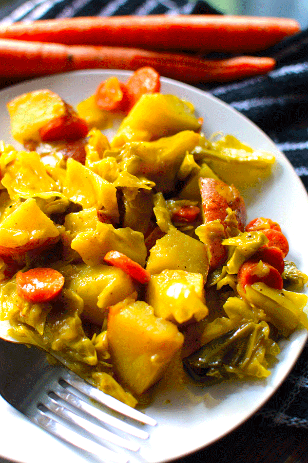 Vegan Recipe: Tikel Gomen – Ethiopian Cabbage