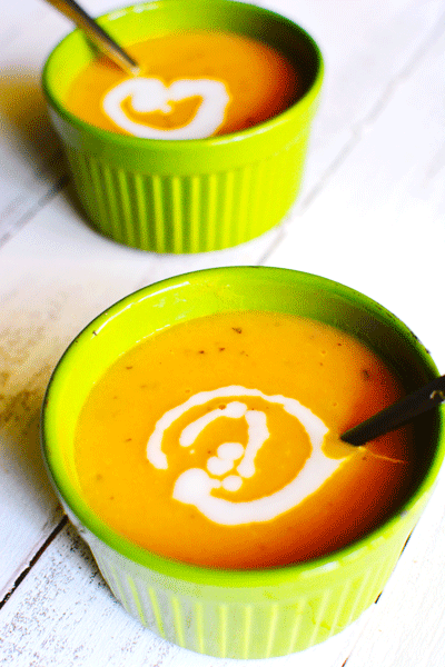 Vegan Recipe: Butternut Squash Soup