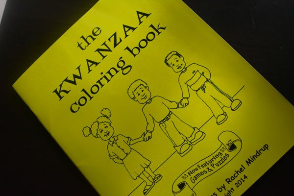 The Kwanzaa Coloring Book: Now Featuring Games & Puzzles