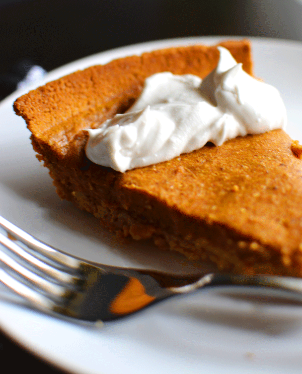 Vegan Recipe: Sweet Potato Pie