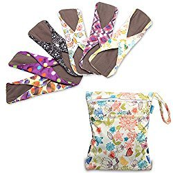 Reusable Washable Cloth Menstrual Pads