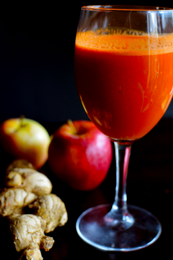 A Carrot Apple, Ginger Juice Recipe You Should Try Today