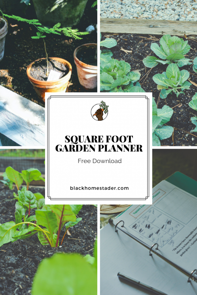 Square Foot Garden Planner Free Download Black Homesteader