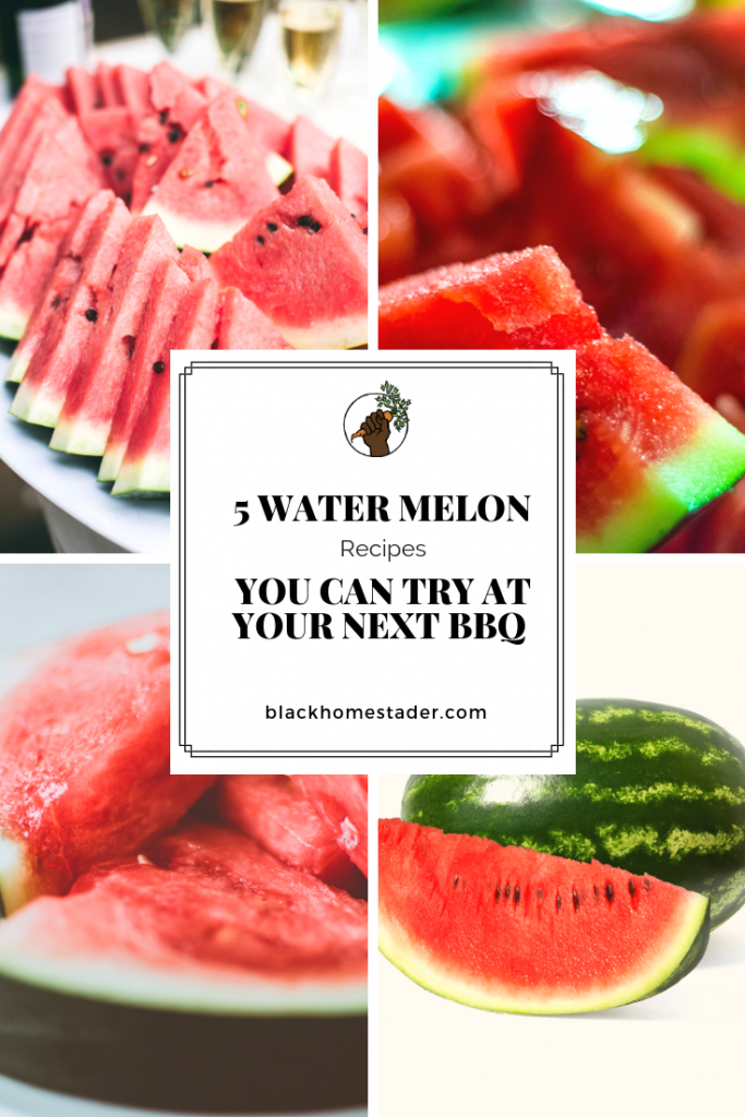 watermelon punch recipes for bbq