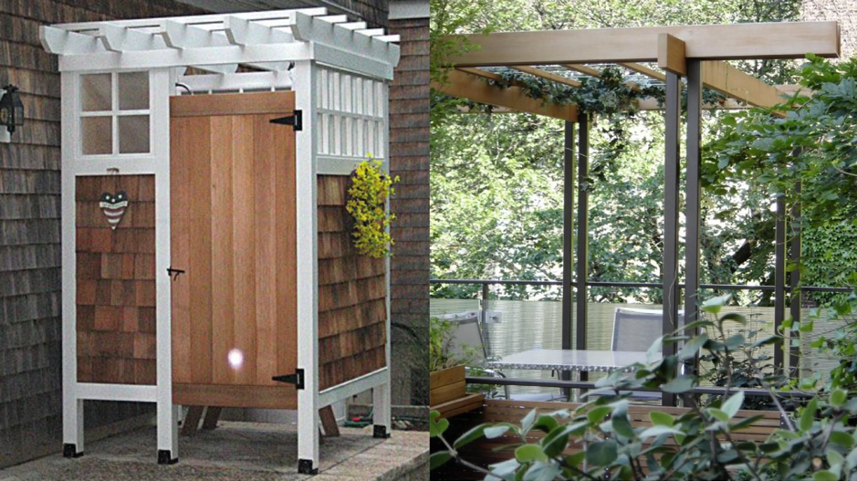 How To Build An Outdoor Shower   Black Homesteader
