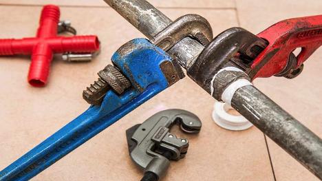 fix a leaking shower